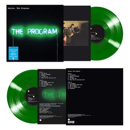 Marion: The Program: Translucent Green Vinyl Signed Exclusive