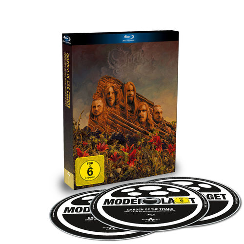 Opeth: Garden Of The Titans (Live At Red Rocks Ampitheatre): Limited Blu-Ray/2CD Digi-Pack