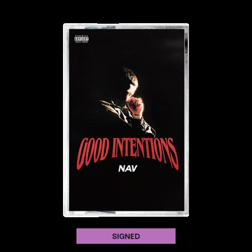 Nav: Good Intentions Cassette + Digital Album