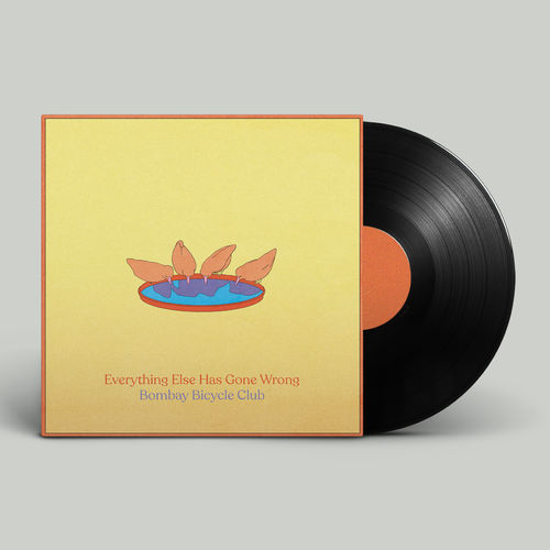 Bombay Bicycle Club: Everything Else Has Gone Wrong: Signed Black Vinyl