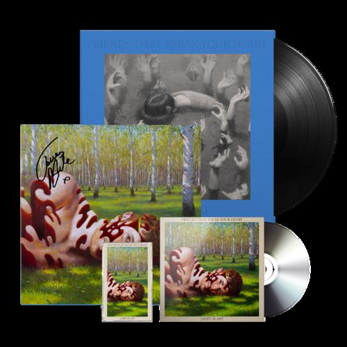 James Blake: CD + CASSETTE + VINYL + SIGNED LITHO