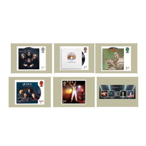 Queen: Postcard Set