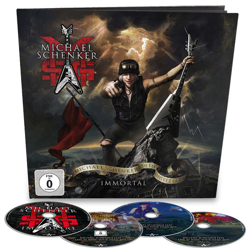 MSG: Immortal: Limited Edition 3CD/Blu-Ray Earbook + Signed Photocard