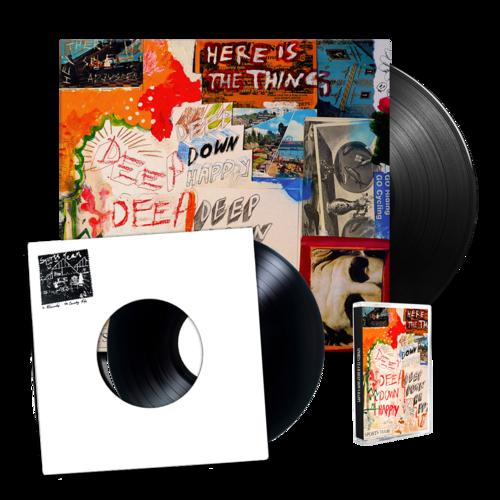 Sports Team: Deep Down Happy: Standard LP, Cassette + Winter Nets 7
