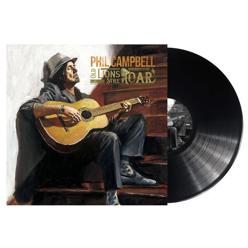 Phil Campbell: Old Lions Still Roar: Limited Gatefold Vinyl with Signed Insert