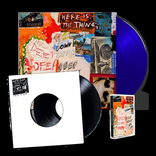 Sports Team: Deep Down Happy: Signed Blue Vinyl, Cassette + Winter Nets 7