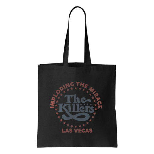 The Killers: ITM Star Logo Tote Bag (Black)