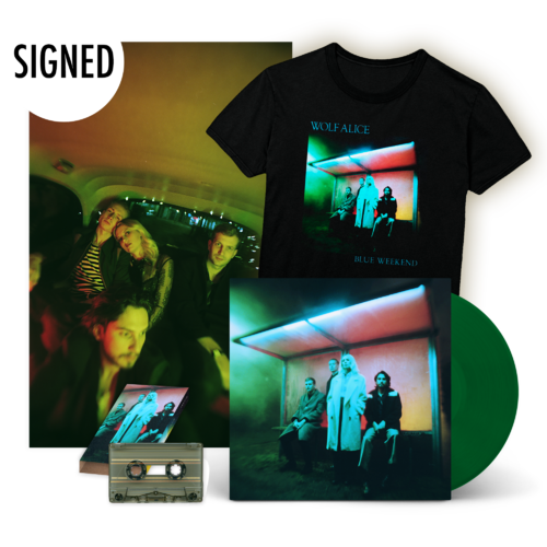 Wolf Alice: Blue Weekend Vinyl & Tee Set & Signed Poster