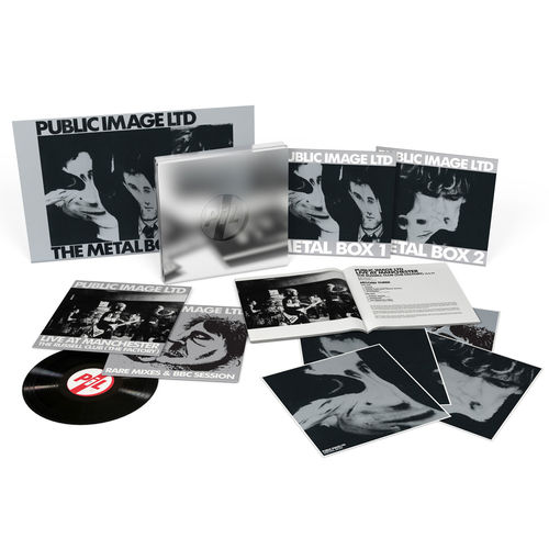 Public Image Limited: Metal Box: Super Deluxe Vinyl Box Set + Signed Card