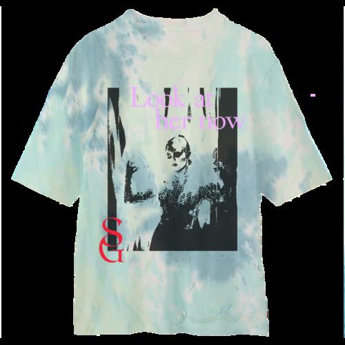 SelenaGomez: Look At Her Now Tie Dye T-Shirt