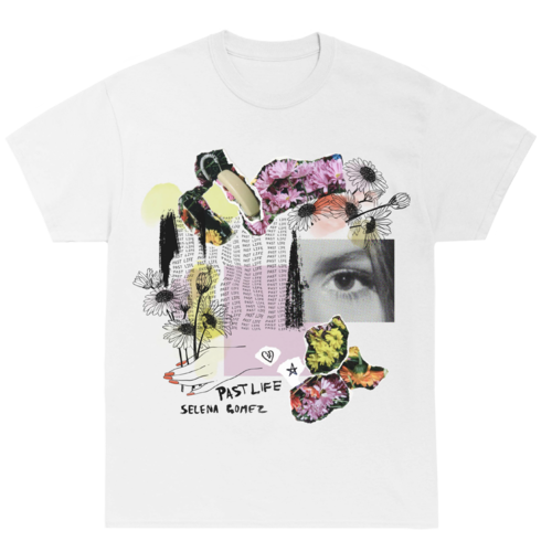 Selena Gomez : PAST LIFE COLLAGE T-SHIRT - PROCEEDS DONATED