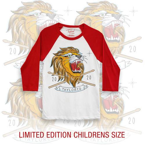 Roger Taylor: Taylored 2020 Lion Childrens Red Baseball Shirt