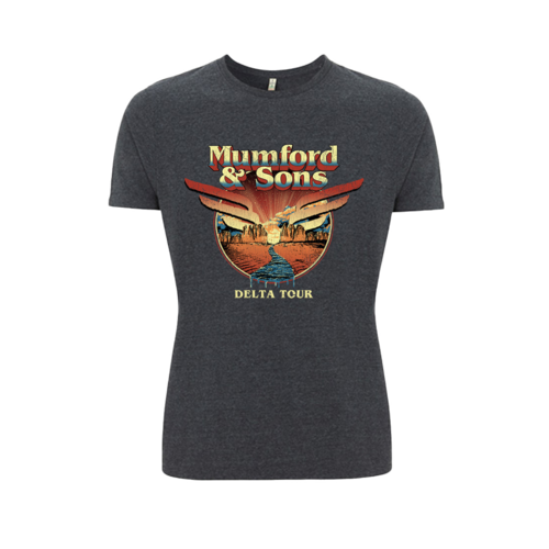 Mumford & Sons : Delta World Tour T-Shirt