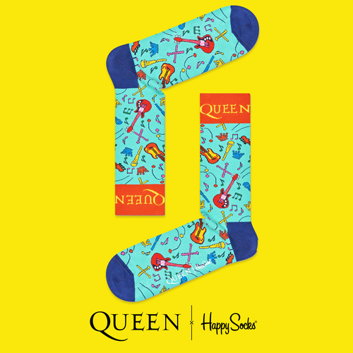 Queen: The Works Happy Socks
