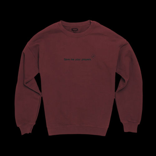 Halsey: Nightmare Crewneck (Red) - S