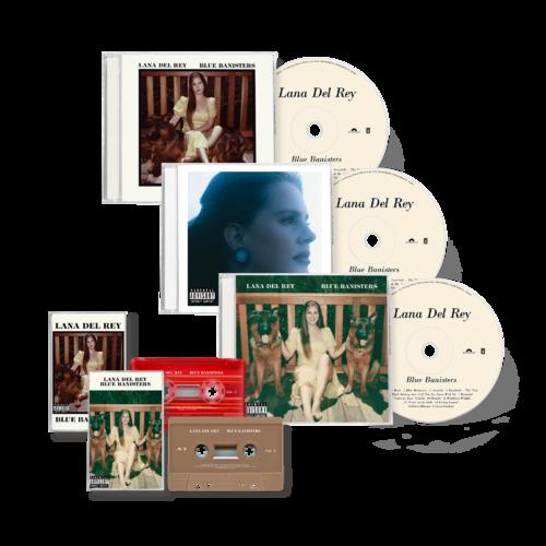 Lana Del Rey: BLUE BANISTERS CD + CASSETTE BUNDLE