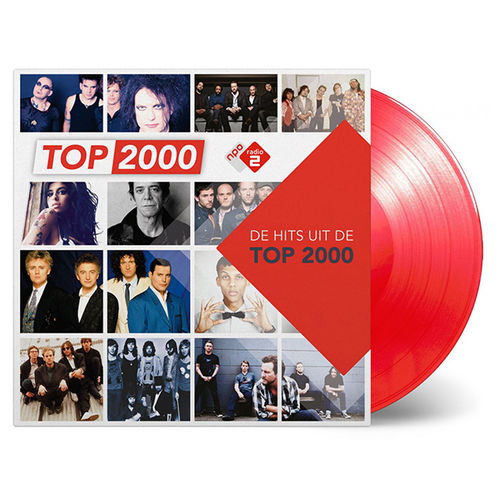 Various Artists: Top 2000: Limited Edition Red Coloured Vinyl