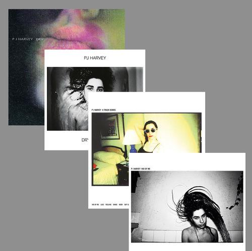 PJ Harvey: Dry + Dry - Demos + Rid Of Me + 4-Track Demos: Album Bundle
