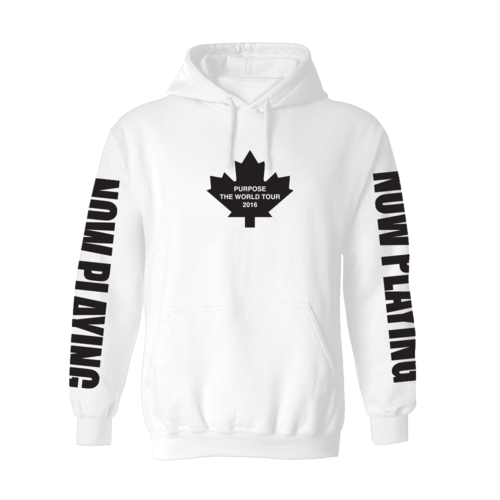 Justin Bieber: Purpose Tour Toronto Hoodie