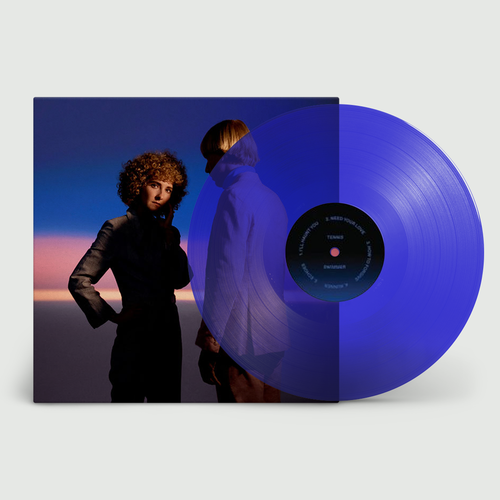 Tennis: Swimmer: Limited Edition Transparent Blue Vinyl