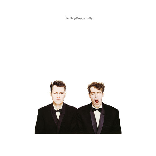 Pet Shop Boys: Actually 180gm Heavyweight Vinyl