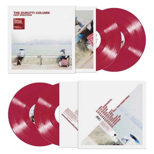The Durutti Column: Keep Breathing: Limited Edition Red Vinyl