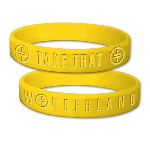 takethat: Yellow TT Wristband