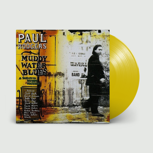 Paul Rodgers: Muddy Water Blues: Limited Edition Translucent Yellow Vinyl