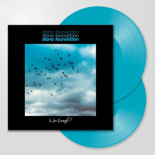 Stone Foundation: Is Love Enough?: Signed Double Blue Vinyl
