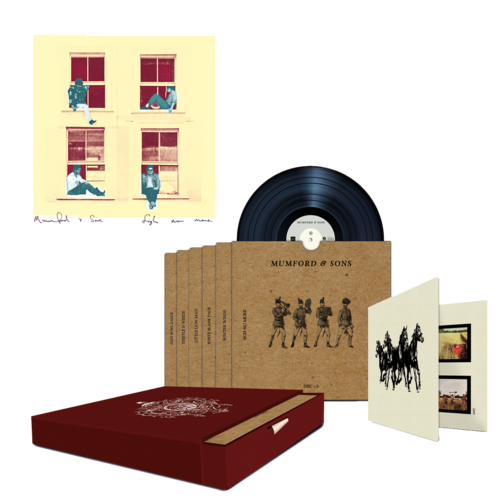 "Mumford & Sons : Sigh No More Limited Edition 7"" Boxset + Numbered Lithograph"