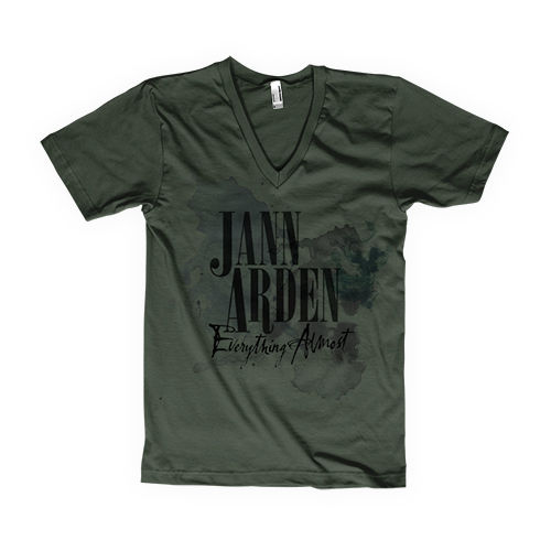 Jann Arden: Jann Arden - Everything Almost Green Tour V-Neck Tee