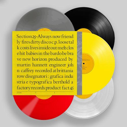 Section 25 : Always Now: Deluxe 5 LP Colour Vinyl Box Set