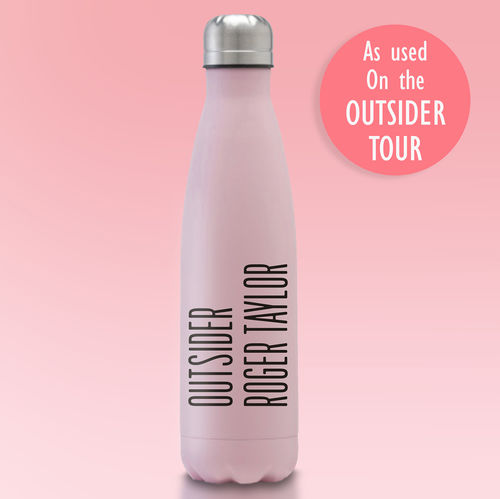 Roger Taylor: Pink 'Outsider' Insulated Water Bottle