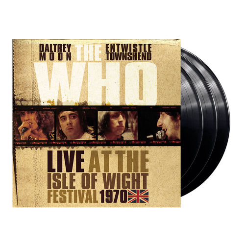 The Who: Live At The Isle Of Wight (3LP)