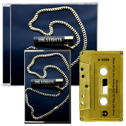 The Streets: None Of Us Are Getting Out Of This Life Alive: SIGNED CD + SIGNED CASSETTE