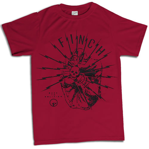 Finch: Back To Oblivion Red T-Shirt