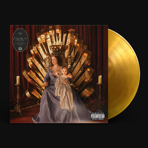 Halsey: If I Can't Have Love, I Want Power - Limited Edition Exclusive Clear Amber LP