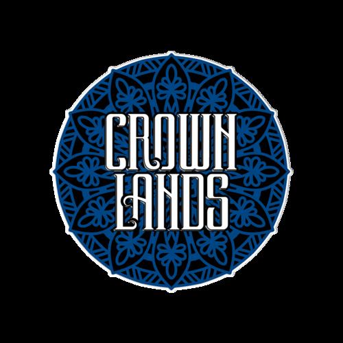 Crown Lands: Crown Lands Enamel Pin
