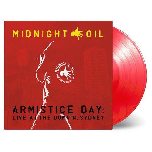 Midnight Oil: Armistice Day Live At The Domain, Sydney: Limited Edition Red Vinyl