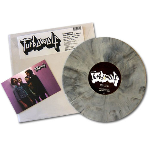 Turbowolf: Solid Gold: Black & White Marbled Vinyl
