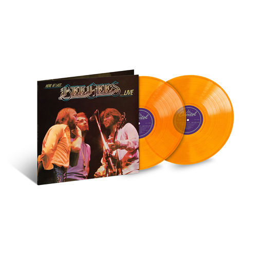 Bee Gees: Here At Last… Bee Gees Live: Exclusive Orange Vinyl