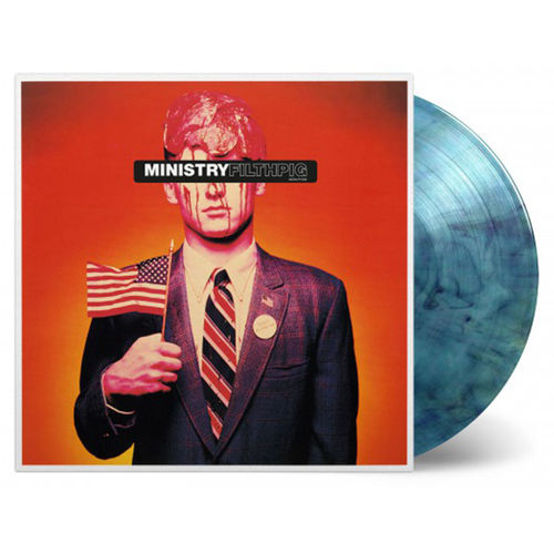 Ministry: Filth Pig: Limited Edition Blue Marbled Vinyl