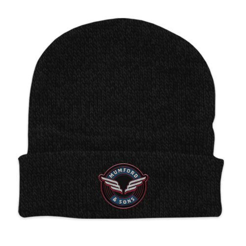 Mumford & Sons : Wing Emblem Beanie