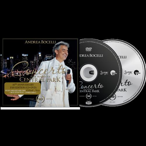 Andrea Bocelli: Concerto: One Night In Central Park - 10th Anniversary Edition CD + DVD