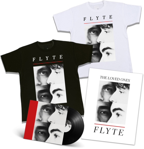 Flyte: Signed LP, Logo T-Shirt + Lithograph