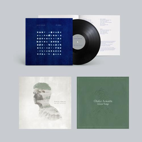 Ólafur Arnalds: Ólafur Arnalds 3 LP analogue bundle