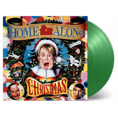 Various Artists: Home Alone Christmas: Limited Edition Holly Green Vinyl