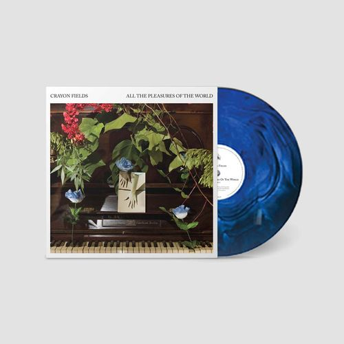 Crayon Fields: All The Pleasures of the World: Deluxe Edition Blue + Green Galaxy Swirl Vinyl