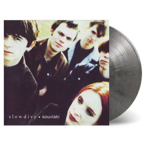 Slowdive: Souvlaki: Limited Edition Transparent & Black Swirled Vinyl