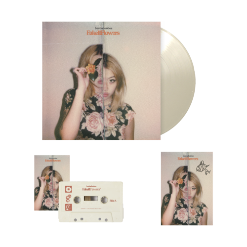Beabadoobee: Fake It Flowers Exclusive Natural + Magnolia LP Bundle (Signed)